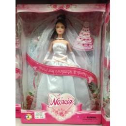 """Кукла типа """"Барби"""" 3 вида 12845"""