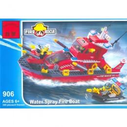 """Конструктор BRICK 906 """"Пожарная охрана"""" 340дет. 07113"""
