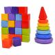 Купить кубики и пирамидки