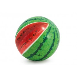 """Мяч надувной 58075 (12шт) """"Арбуз"""" цветн. от 3 лет 107см"""