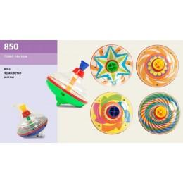 Юла 850 (144шт 2) 4 расцветки в сетке 14*16 см
