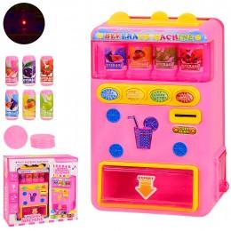 Автомат с газировкой 978-11 (36шт|2) свет,музыка, в кор.27.5*10*26 см, р-р игрушки – 13*8*22 см