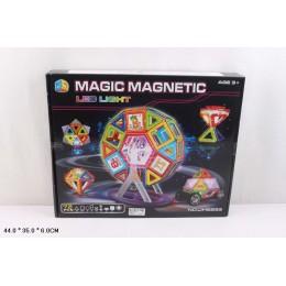 Магнитный конструктор JH6893(24шт 3)72дет., в кор.44*35*6см