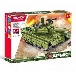 Конструктор IBLOCK PL-920-176 (12шт) АРМИЯ, 812дет., в собран.кор 42,5*33*6,8см