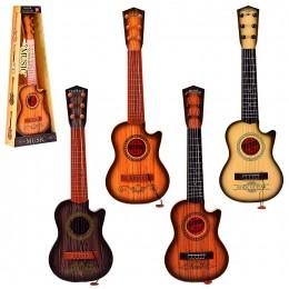 Гитара 180C11 12 13 14 (24шт 2)4 вида,с медиатором,р-р игрушки -18*6,5*55 см, в коробке 22*8*60 см