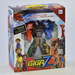 """Трансформер 7 в 1 """"Гига 7"""" робот Тобот GIGA 32 см"""