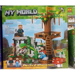 """Конструктор """"Minecraft: Смотровая площадка на дереве"""" 33114"""