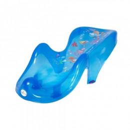Горка д/купания Tega пластик. Aqua AQ-003 blue transperent