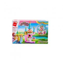 Конструктор Qman 2613-4 (64шт) замок принцессы, фи