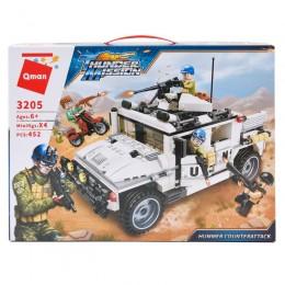 Конструктор Qman 3205 (12шт) военный, транспорт