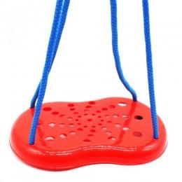 Качель-тарзанка подвесная (красный) 5373