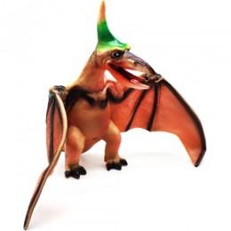 """Динозавр резиновый """"Птеродактиль"""", коричневый JB009"""