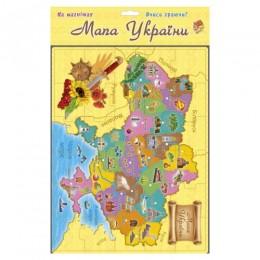 """Магнитные пазлы """"Карта Украины"""", 30 эл 21175"""