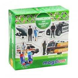 """[ML4031-31 EN ] Набір магнітів """"Професії та транспорт"""" ML4031-31 EN"""