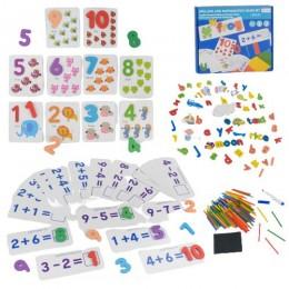 99054 [M43719] Развивающая игра 2в1 Алфавит и Математика M 43719 (24) английский алфавит, в коробке [Коробка]