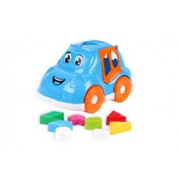 Машинка-сортер с фигурками (голубая) 5927