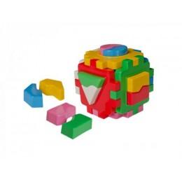 """Игрушка куб """"Умный малыш Логика 1 ТехноК"""" (сортер) 2452"""
