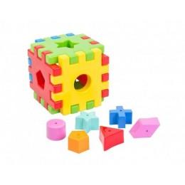 """Іграшка розвиваюча """"Чарівний куб"""" 12 ел Wader"""