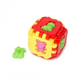 Кубик пазл с животными (разноцветный) 641 в.2