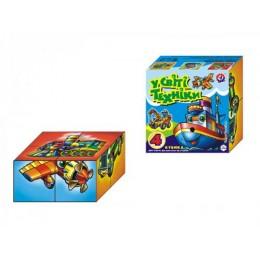 """Іграшка кубики """"У світі техніки ТехноК"""""""