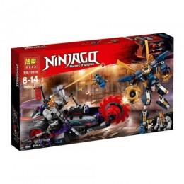 """Конструктор """"Ninja: робот и мотоцикл"""", 565 дет 10805"""