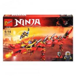 "Конструктор ""Ninja: Red Dragon "" 417 деталей 270"