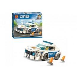 """Конструктор """"CITIES: автомобиль полицейского патруля"""" (98 дет.) 11206"""
