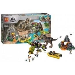 """Конструктор """"Jurassic World: Бой тираннозавра и робота-динозавра"""", 740 деталей 11337"""