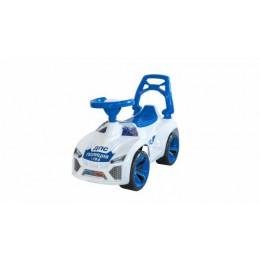 Машинка для катания Ламбо белая 021_Б
