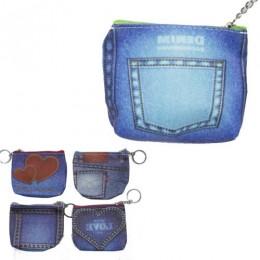 [DK154] Детский кошелёк джинсы (12)