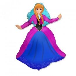 [901744] Кулька фольгована Принцеса Анна (м-ф Холодне серце) 901744