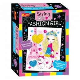 [10100520У] 4748-24У Набір для творчості.String ART.Fashion girl 10100520У
