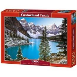 "Пазлы ""Голубое озеро, Jewel of the rockies, Canada"", 1000 эл C-102372"