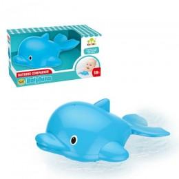 [SL87038] Іграшка для ванної дельфін, плаває, працює від батарей