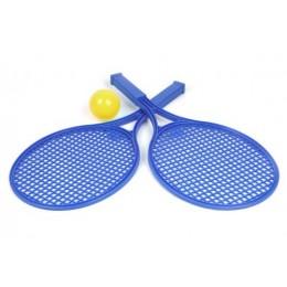 Детский набор для игры в теннис ТехноК (синий) 0380