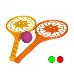 "Набор для тенниса ""Солнышко"" (2 ракетки и мячик) 5186"
