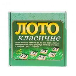 """Настольная игра """"Лото классическое"""" 20452"""