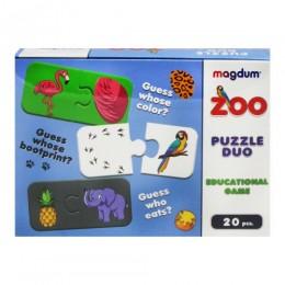 [ME5032-11 EN] Гра настільна розвиваюча Парочки Зоопарк ME5032-11 EN