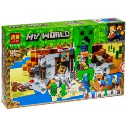Конструктор Нападение Зомби Lari 11363 Майнкрафт Minecraft 852 дет