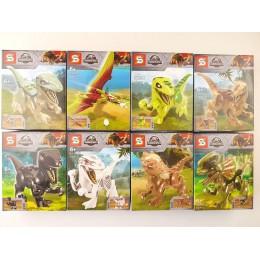 """Конструктор sy1238 (АналогJurassic World) """"Парк юрского периода Динозавры"""" 8 в 1"""