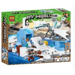 """Конструктор Bela (Lari) 11266 Minecraft """"Ледяная Ловушка"""", 283 детали. Аналог Лего Майнкрафт"""