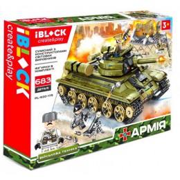 Конструктор Iblock Танк Армия 683 дет PL-920-175