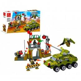 """Военный Конструктор 61001 """"Нападение на блокпост"""", 459 деталей, в коробке"""