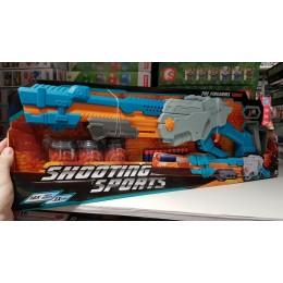 Автомат детское оружие Shooting Sports 6068 65см, мишень, мягкие пули 10шт