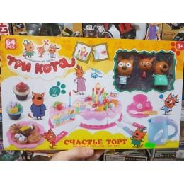 Набор Три Кота «Торт» 1096