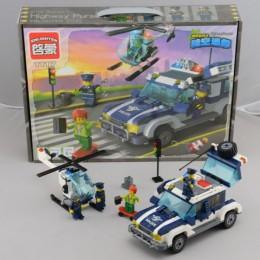 Конструктор Brick Полицейская машина 394 дет. 1117