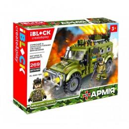 Конструктор Iblock Фургон Армия 812 дет PL-920-166