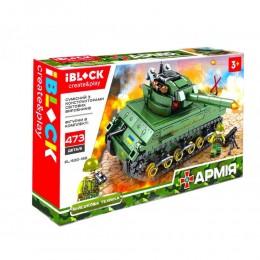 Конструктор Iblock Фургон Армия 473 дет PL-920-169