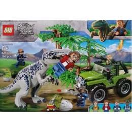 Конструктор Нападение Тираннозавра. Мир Юрского периода (аналог Jurassic World) 82161 тирекс