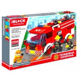 Конструктор Iblock Служба спасения Пожарная охрана 256 дет PL-920-126